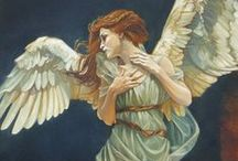 Art and Illustration - Angels and Cherubs / Angelic inspirations