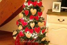 Decorazioni natale  / Cuori, fiocchi...tutto per il vostro albero!