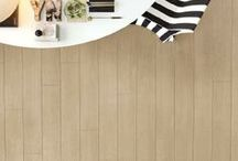 Inspired - Now on Clearance / Italian Porcelain Tile. Captures the look and feel of handscraped hardwood. #unicomstarker