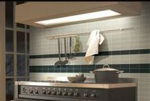 Glass Mosaics and Tile / A modern look, great for backsplashes, showers or accent walls. More options available in store. #glasstile