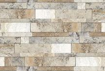 Ledge Stone / Random stacked stone; ideal for fireplaces and accent walls.