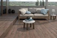 Wood Look Tile / Porcelain tile from various manufactures. Get the look and feel of hardwood with increased durability and scratch resistance. For more information please see each tile's individual board.