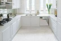 Marble-Look / A Polished Marble Look Tile. #gani