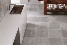 Colours - Now on Clearance / Italian porcelain tile. A cement inspired contemporary look. Availble in a matte and lappato finish. #unicomstarker