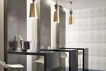 Revigres / Portugeuse porcelain and ceramic tile. A modern look design. #revigres