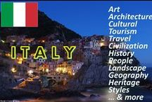 """ALL ABOUT✿Italy… & more / Welcome! You are all cordially invited to collaborate on this board. If you follow me and write simply """"Add me""""on one of my pins, ONLY THERE : https://www.pinterest.com/hardysCorner7/last-minute/ , I'll send you an invitation, as soon as possible . Thanks to all contributors and followers for making this an superb board! Contributing is not obliged... You are free to invite your friends. Here, no rule, other than those of Pinterest..  Admin✿Bernard :-)"""