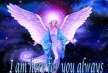 Angel Inspiration / Angels are our spiritual team mates and will help and support us always.