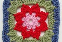 háčkováné  motivy / crocheted motifs