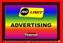 ADVERTISING✿No Limit !!!… & more / WELCOME TO ALL✿ Make The Most Of Pinterest!! ✿ Do you want supercharge your traffic ?  Get Seen By Over 18200 Of My Followers ✿  NO LIMIT ADVERTISING ✿  Pin what you like ✿  As much as you like when you like ✿   ONLY RULE ON THIS BOARD :  Please, no nudity, no spams  or you will be removed. Contributing is not obliged ! Feel free to invite your friends.Thank you. Bernard  :-) Board started June 07, 2015