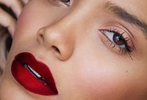 Classic Red Lipstick Makeup Inspiration - Not My work but Makeup Looks from other Artists