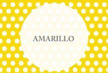 :: Amarillo :: / El [ Amarilo ] es el color del sol y la energía, uno de nuestros preferidos. Lo vemos en todos lados y lo llevamos especialmente a •nuestros bolsos y accesorios• http://www.tiendamatriona.com.ar/
