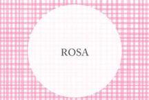 • rosa • / El Rosa es nuestro color favorito! El más romántico, delicado y femenino. Lo encontramos en todas partes, y lo llevamos especialmente a nuestra colección!   http://www.tiendamatriona.com.ar/