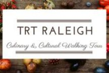 Raleigh Culinary & Cultural Walking Tour / If you are looking a fun food activity, join us on our tasting food tour to meet the Triangle's premier local gourmet food producers and culinary purveyors. This isn't some big, impersonal, stay-behind-the-velvet-ropes tour.  Our small group tours are intimate, fun and informal, where the people behind Raleigh's food meccas welcome you like a friend and give you the inside scoop on what makes their food culinary masterpieces. The Delicious Way to Savor the City!  #trtfoodtour