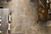 Tides / Italian Porcelain Tile. The look of travertine in three colours