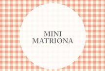 :: mini matriona :: / • Detalles [ Babies & kids ] matriona •   Pequeños [accesorios matriona] con dulces estampados, en un universo lleno de detalles y sorpresas [amosoras]
