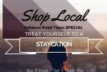 Special Deals from Tobacco Road Tours / From time to time, we offer specials to our followers.  Join us on a tour soon.