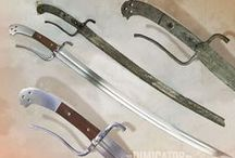 Messer & Bauernwehr / German long knives, both civil and military