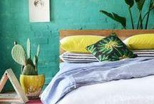 Espacios que amamos / Home Decor - Decoracion - Color - Ideas - Hogar