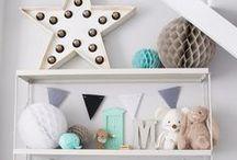 Habitacion infantil / Ideas para decorar la habitación de los mas chicos.