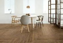 Stage / A sophisticated wood collection featuring natural and classic hues enhanced by elegant veinings. #unicomstarker