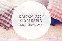 """::Backstage Campaña :: / Otoño - Invierno 2016 [ Inspiracion Musical ]  """"Compruébalo y veras es solo soltar tu sonrisa""""  Lucia Tacchetti ♫♪..."""