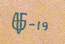 SANNY FEDERLEY / Syntyi 23.5. 1869 ja kuoli 27.11. 1932. Oli tunnetun sortokauden maalarin Alexander Federleyn puoliso.