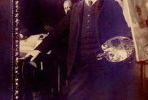ALBERT EDELFELT / Taidemaalari syntynyt 1854 ja kuollut 1905.