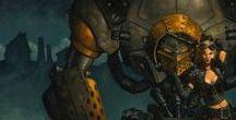 Iron Kingdoms / Materiały do RPGowej kampani w IK. Poszczycę się o polskie opisy.