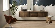"""Essence / The Essence series offers 12""""x48"""" and 8""""x48"""" rectified porcelain tiles with a wood look design"""