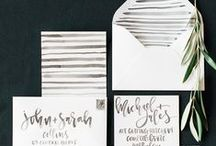 Invitations: Weddings / Paper Monster {invitations, graphics, design}