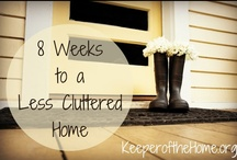 Homemaking / Tips for cleaning and organizing the home.