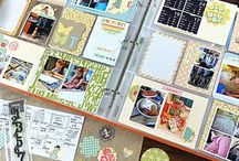 DIY: Scrapbook it / Scrapbooks, memory keeping, capture memories, paper, card making, digital, books, projects, photos, frames, collage, project life
