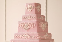 Perfectly pink wedding details / by Lori Barbely