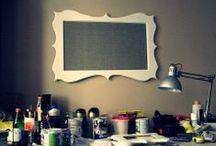 Memo board / memo board  my production my passion, dreams, ideas