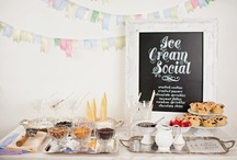 Ice Cream Social / Planning an Ice Cream Social for my birthday.