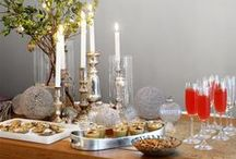 Christmas Cocktail Party / Drinks, appetizers, and decor ideas for a Christmas Cocktail Party.
