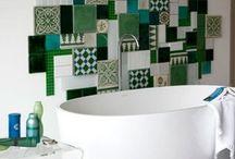 Powder Room & Laundry Love / Inspiration and ideas for my dream laundry and powder room renovation