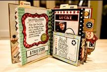 Crafts - Scrapbook mini-albums