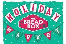 Holiday Market / A collection of decor, music, and refreshment ideas for an indie Holiday art/craft market.