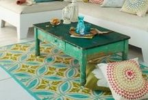 Mediterranean - Home Designs / Mediterranean home design (Mostly living and dining room inspiration)
