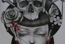 Skulls and Bones / by Jo Schukar