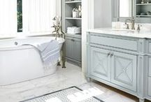 Home Decorating: Bathroom / Interior design, home decorating ideas, tile, fixtures, layout