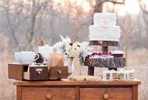 Rustic Fall Wedding (Dessert Ideas)