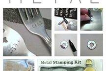 Metal stamping & silver smithing