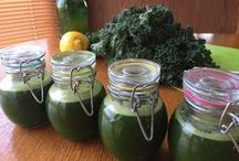 Juicing and Cultured Foods / Cultured Foods made with fresh juice for added enzymes and benefits!