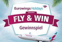 Eurowings-Gewinnspiel / Nimm teil an unserem Gewinnspiel mit unserem Kooperationspartner Eurowings und gewinne einen tollen Preis!