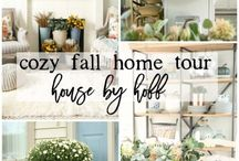 Home Decorating: Fall Decor / Home decor, fall decor, seasonal decor, simple, easy