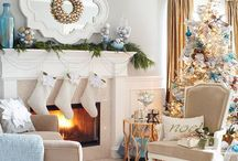Home Decorating: Winter Decor / Home decorating at Christmas, winter decor, cozy, rustic, easy