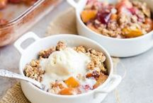 Recipes: Cobblers and Crisps