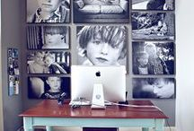 Fun Ways to Use Photos / You have a million pictures on your computer and now it's time to display them! But how? Use these fun and original ways to display your precious pictures.